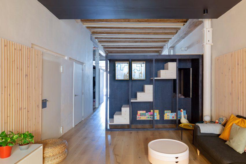 巴塞罗那联合办公共享空间设计装修,温暖而诱人的氛围