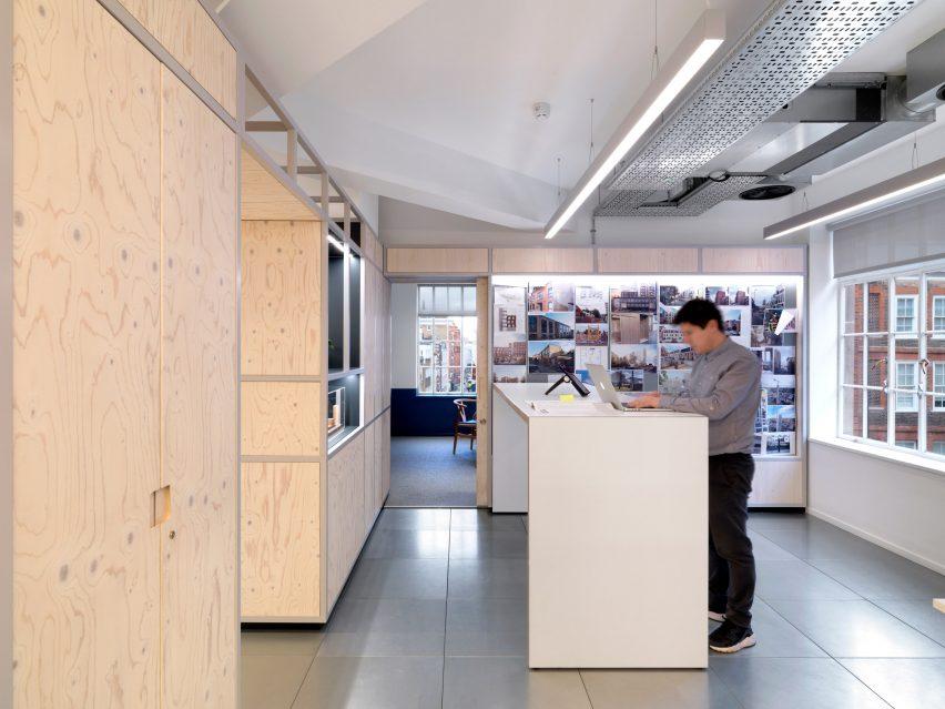 Threefold事务所伦敦办公室设计,幽静的工作空间