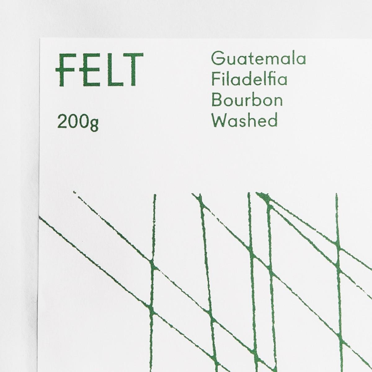 首尔Felt特色咖啡店品牌设计,餐饮vi设计