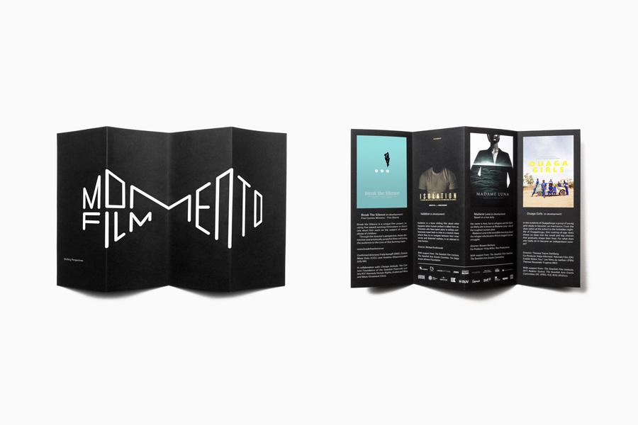 瑞典电影制片公司vi设计与创意广告设计