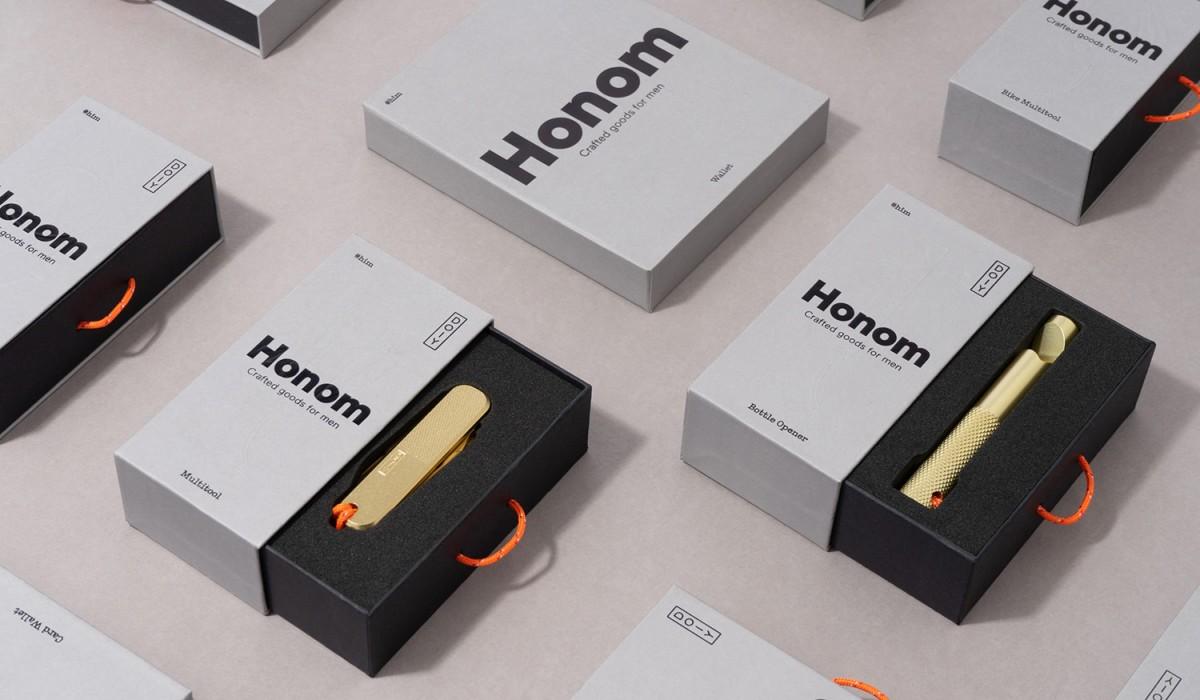 巴塞罗那Honom多功能产品包装设计