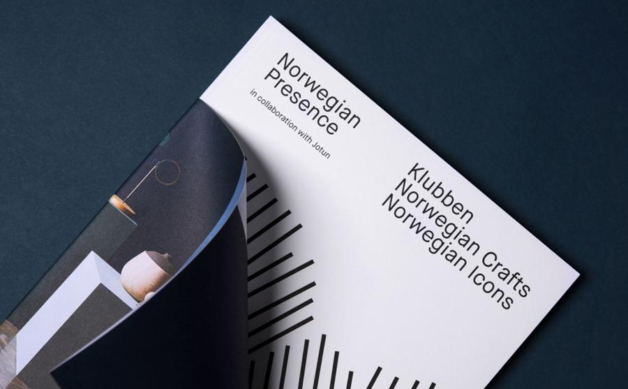 Norwegian手工艺设计展品牌形象塑造vi设计
