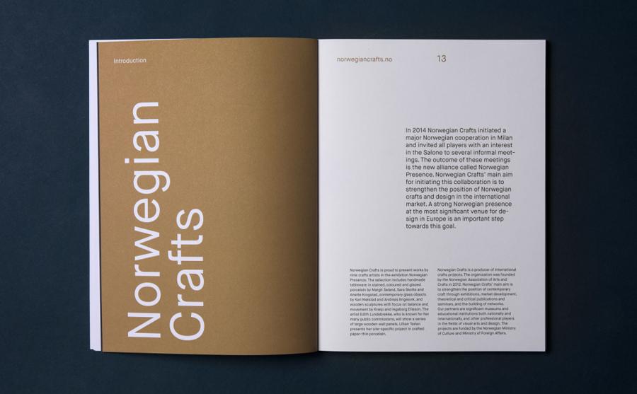 Norwegian手工艺设计展品牌形象塑造vi设计,画册设计