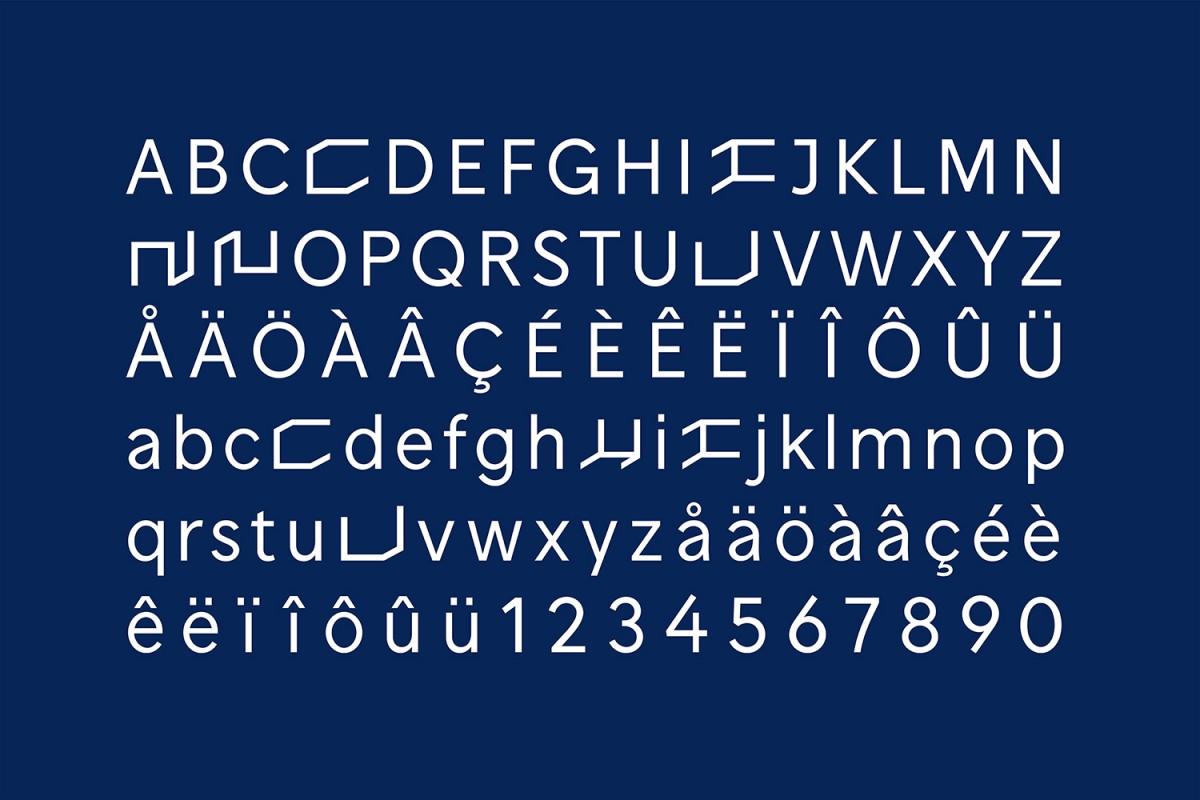 Nunchi创意街区品牌形象塑造,字体设计