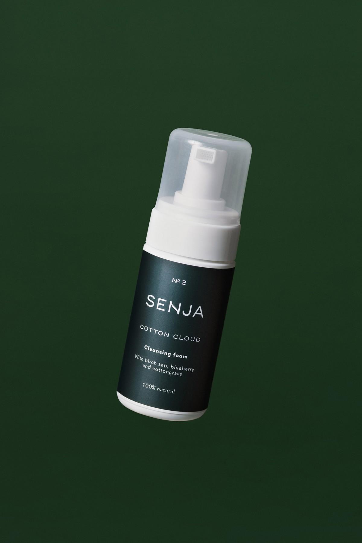 Senja纳维亚高级化妆品品牌vi设计,包装设计