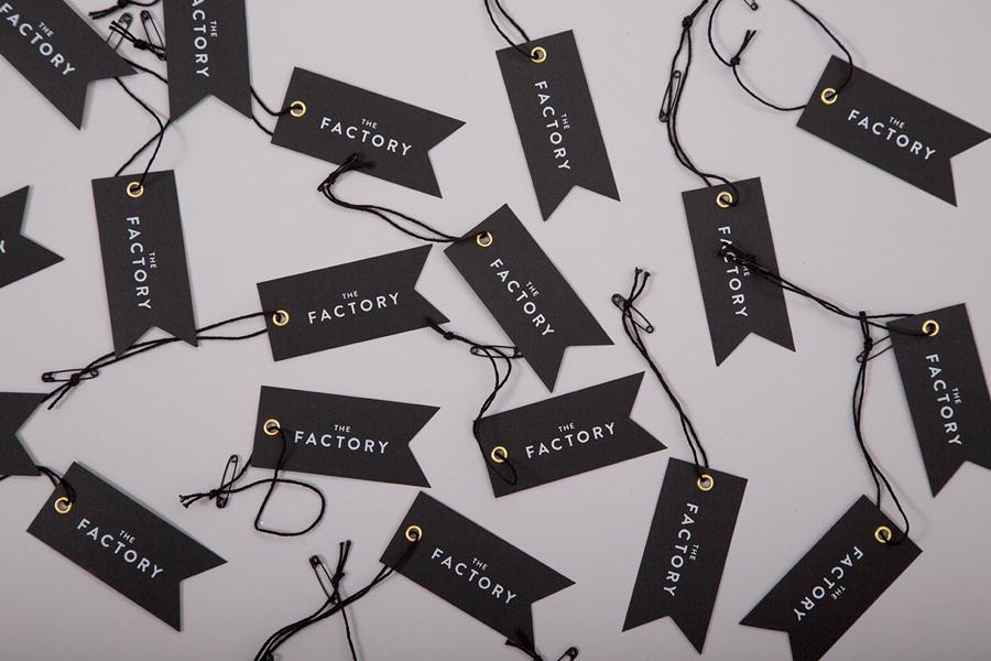 美国factory时装零售品牌vi设计,企业品牌形象塑造
