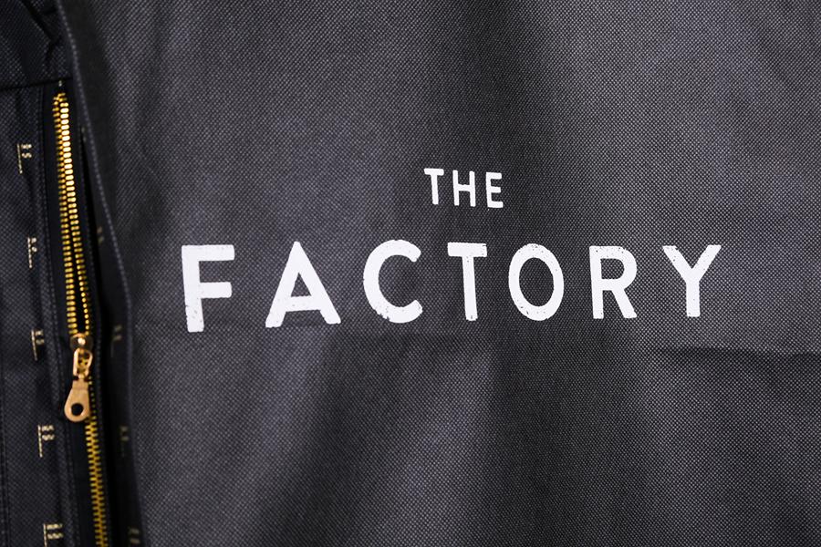 美国factory时装零售品牌vi设计,服装设计