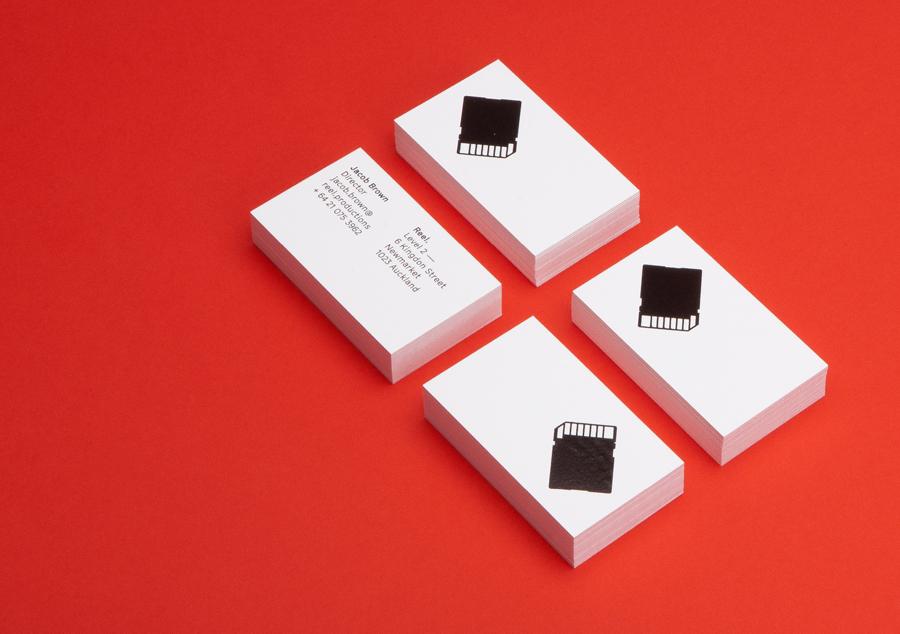 Reel数字创意制作公司品牌形象设计塑造