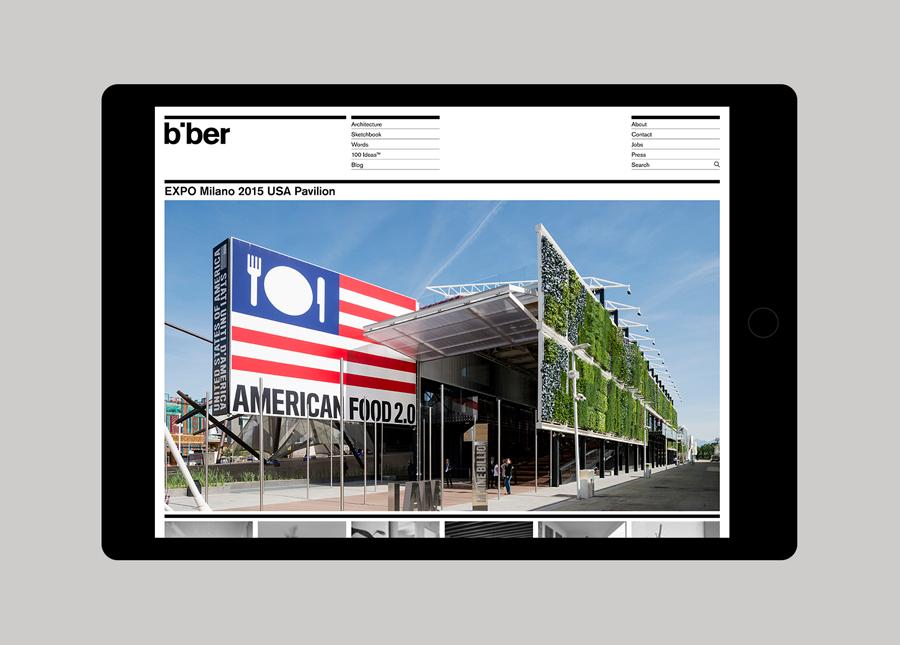 英国Biber建筑事务所品牌形象策划( 企业VI设计),官网设计