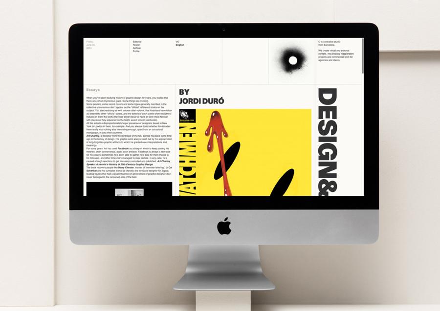 西班牙O品牌工作室vi形象设计