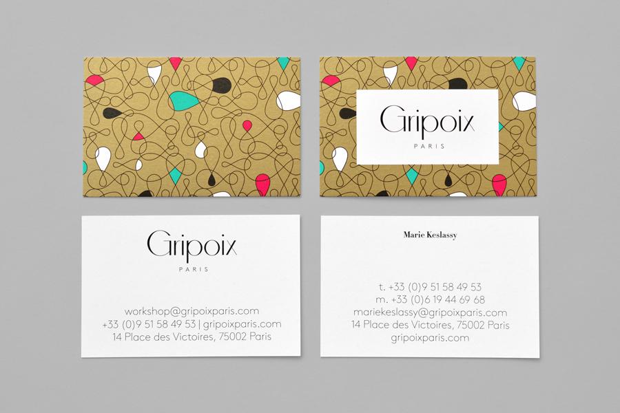 巴黎服装珠宝制造企业Gripoix品牌vi设计