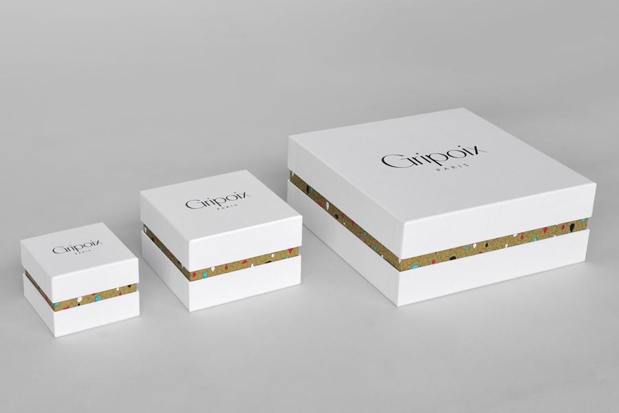 巴黎服装珠宝制造企业Gripoix品牌vi设计,产品包装设计
