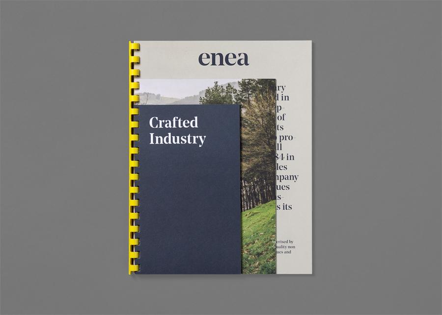 Enea当代家具制造企业vi设计,画册设计