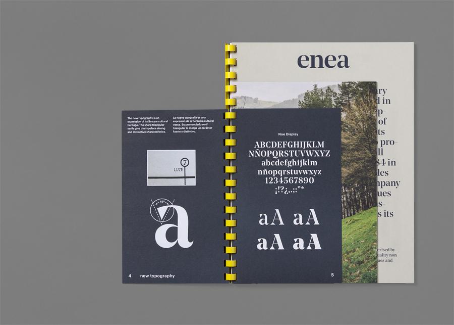 Enea当代家具制造企业vi设计,宣传册设计