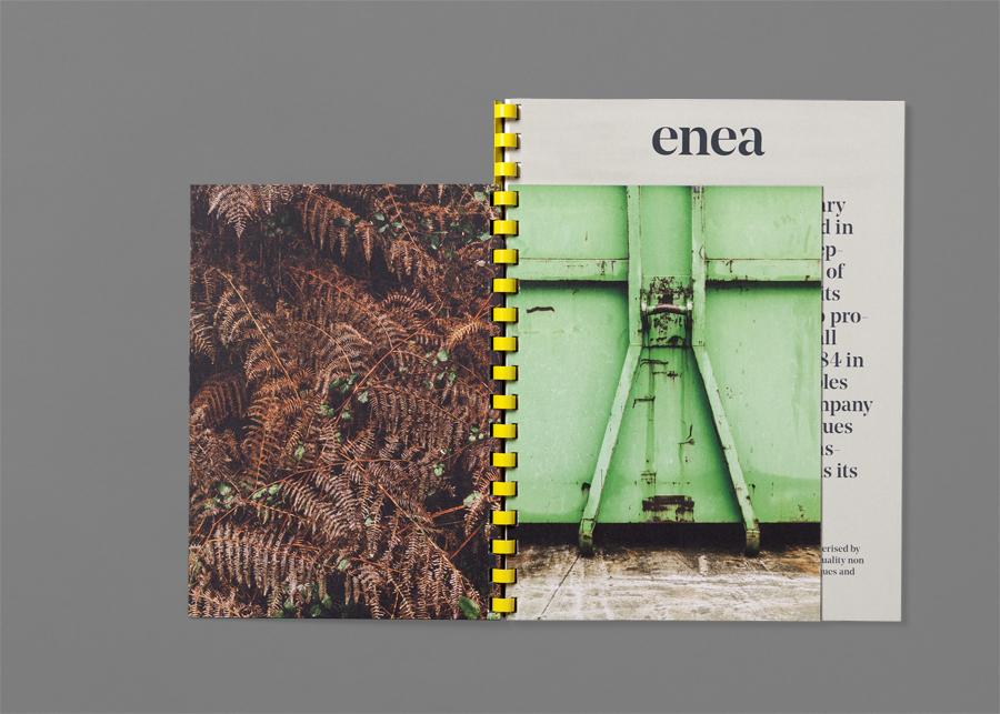 Enea当代家具制造企业vi设计,企业画册设计