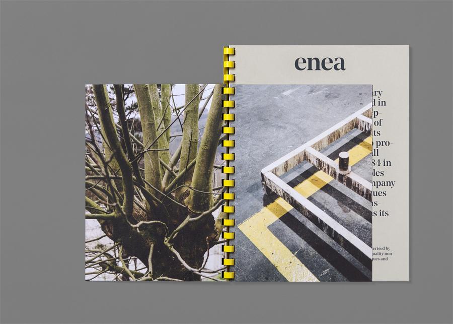 Enea当代家具制造企业vi设计,公司画册设计