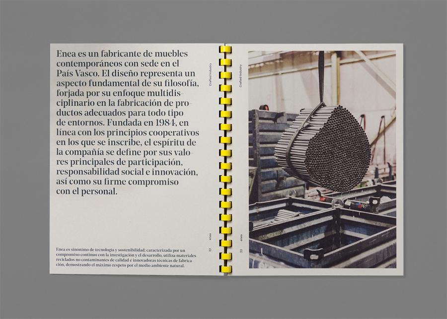 Enea当代家具制造企业vi设计,vis手册设计