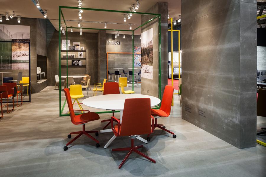 Enea当代家具制造企业vi设计,空间设计