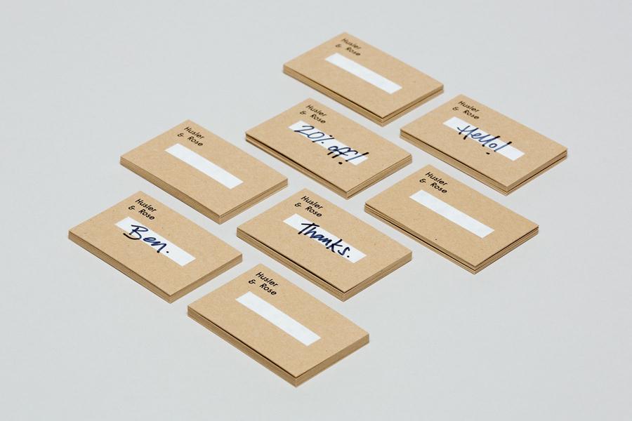 HuslerRose电商品牌VI设计,电商品牌形象塑造