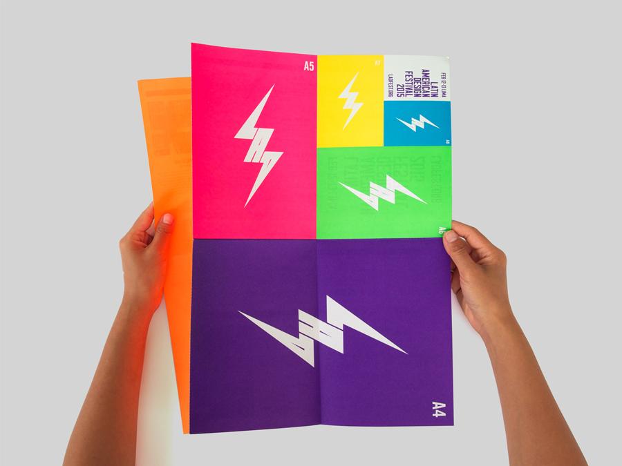 拉丁美洲设计节形象品牌设计,海报设计