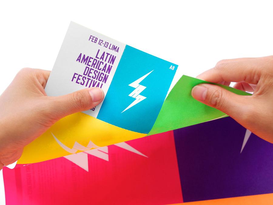 拉丁美洲设计节形象品牌设计,市场推广设计