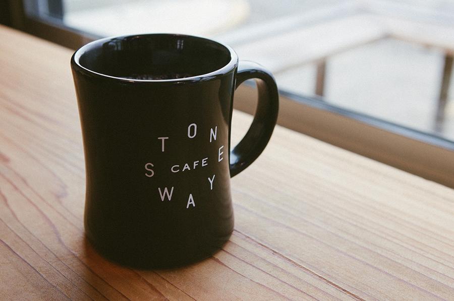 石头路咖啡馆咖啡品牌设计推广,马克杯设计