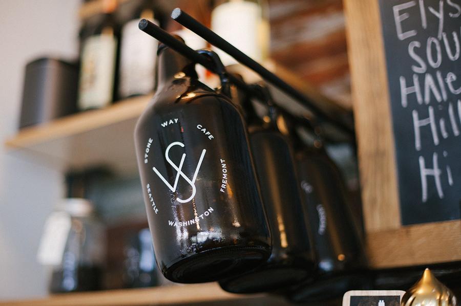 石头路咖啡馆咖啡品牌设计推广