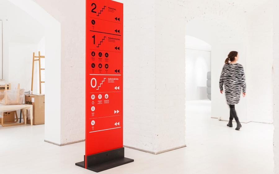 芬兰设计博物馆品牌设计vi设计,导视系统设计
