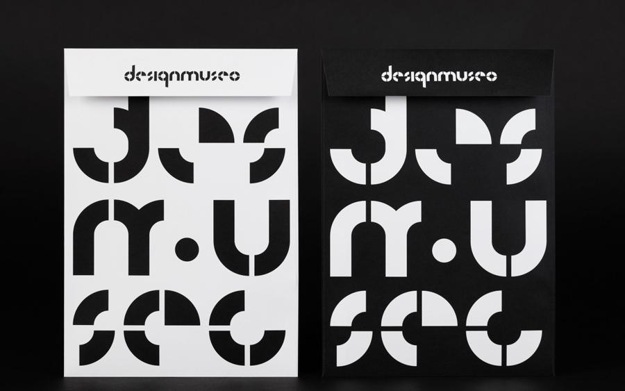 芬兰设计博物馆品牌设计vi设计,文件袋设计