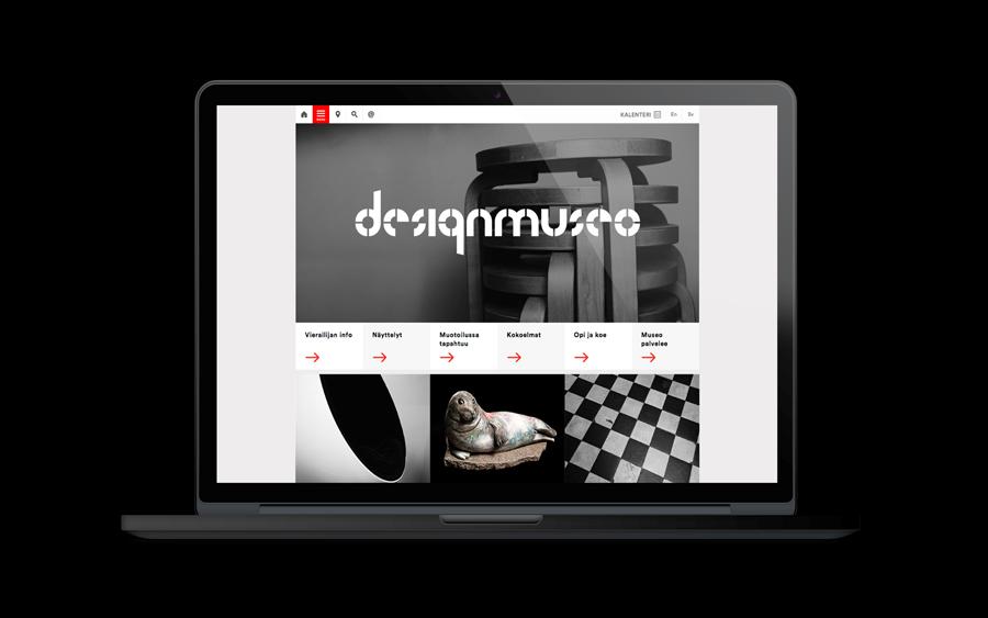 芬兰设计博物馆品牌设计vi设计,网站设计
