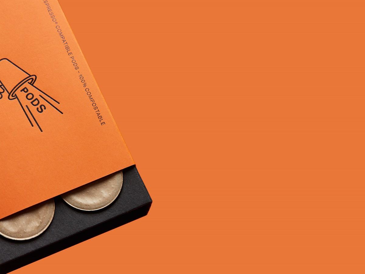 Volcano咖啡系列产品创意包装盒设计