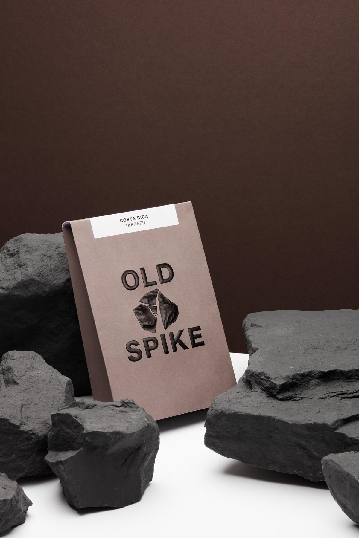 OldSpike咖啡产品包装盒设计