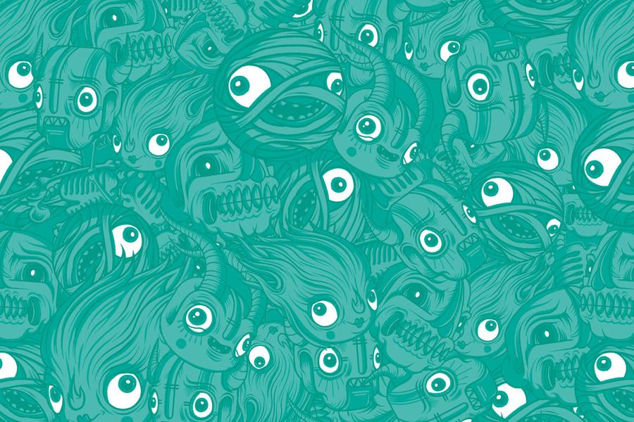 Monster公司国际品牌设计,图形设计