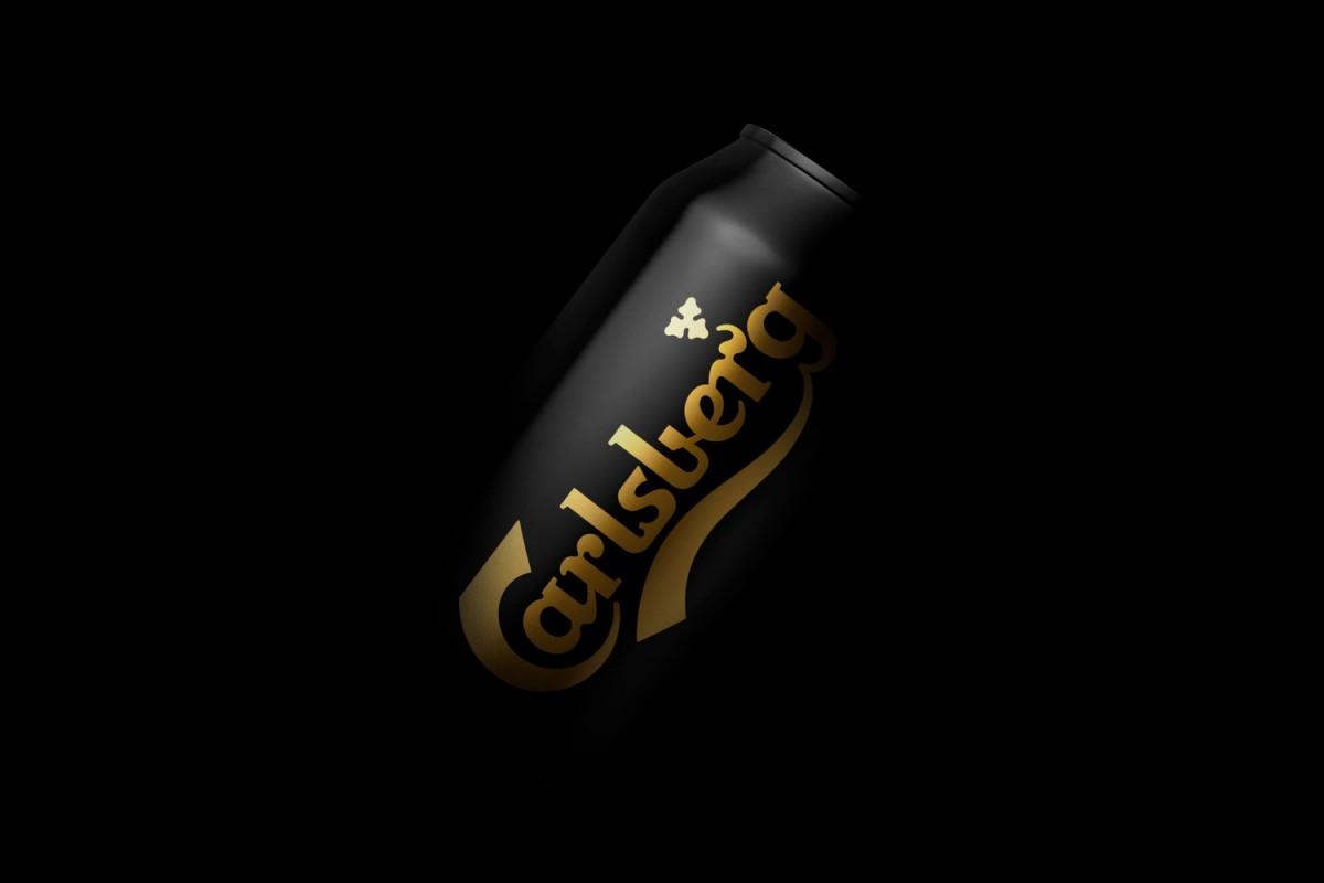 Carlsberg啤酒盒包装设计