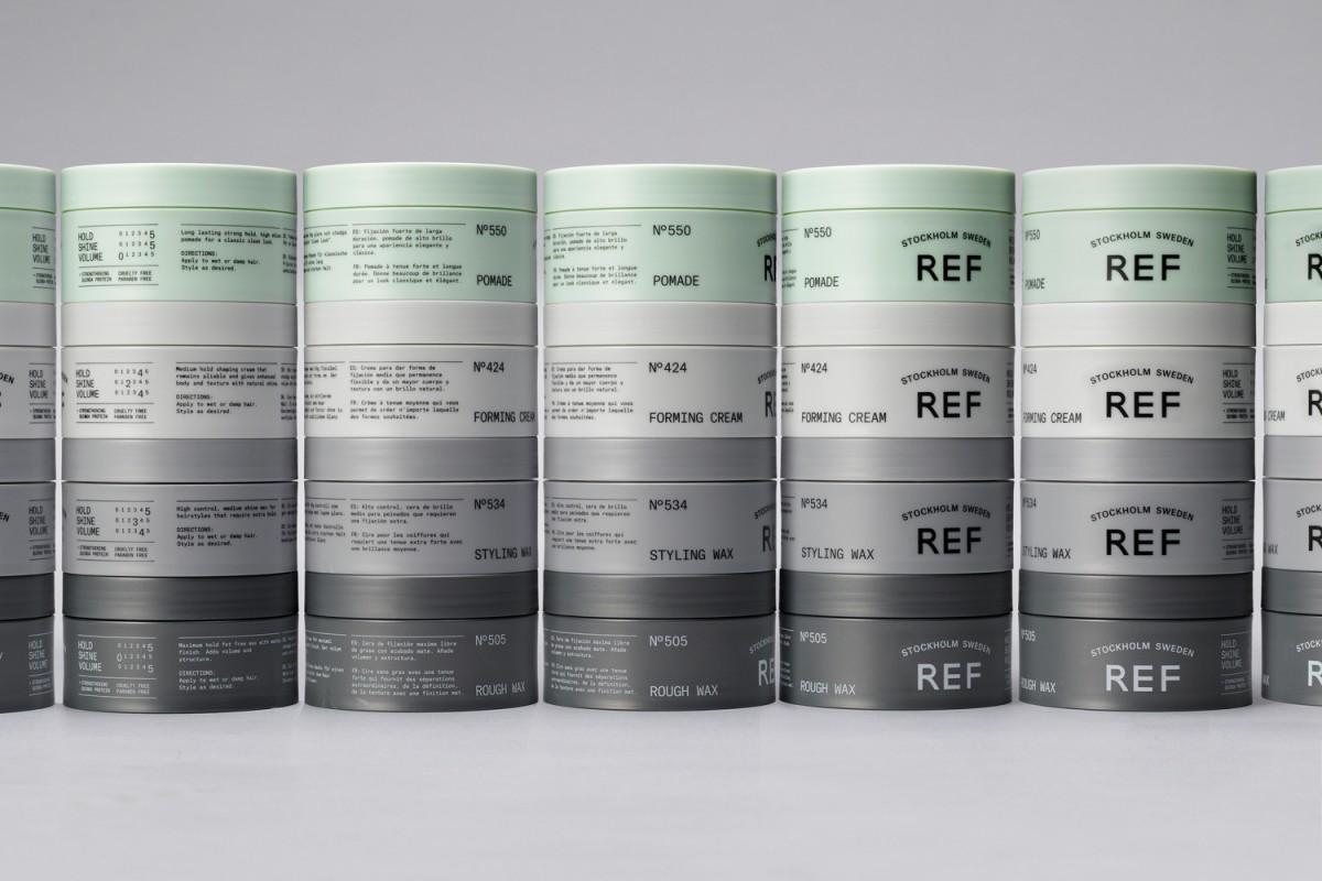 REF瑞典护发品牌形象塑造,日用品包装设计