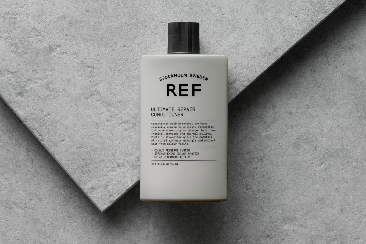 高品质有机REF瑞典护发品牌形象塑造,日用品包装设计