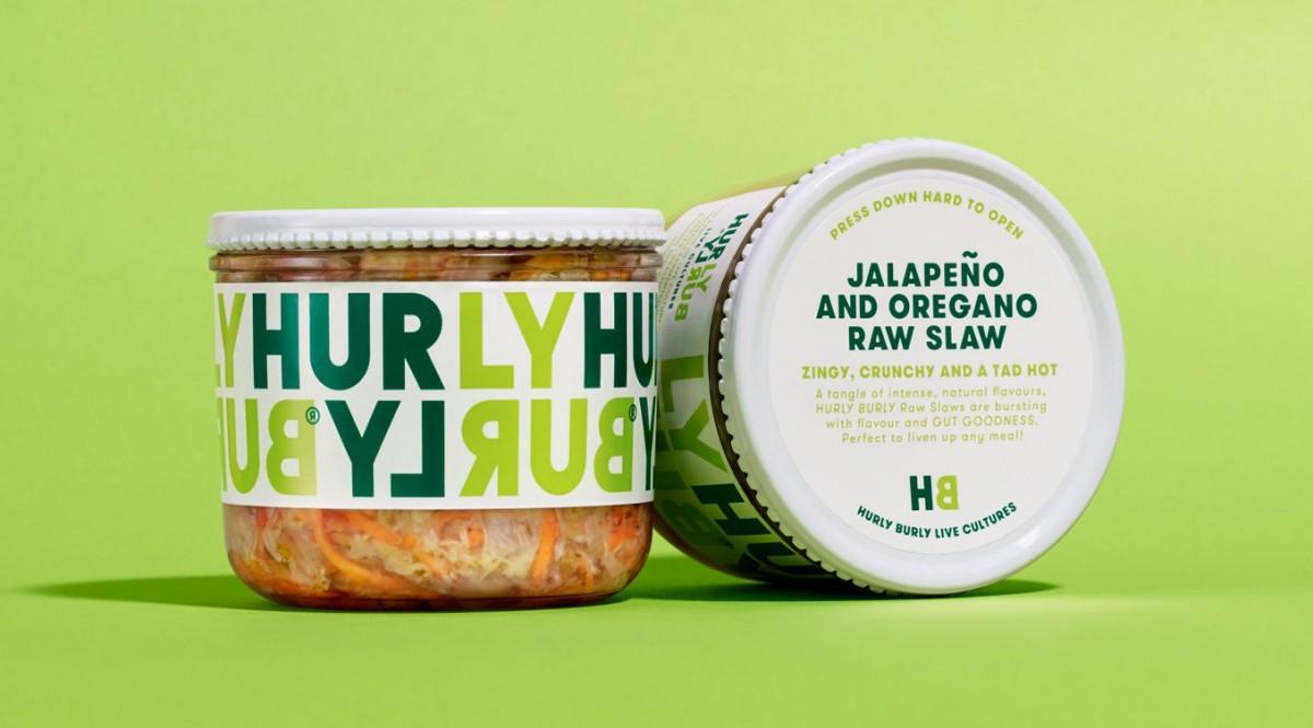 Hurly Burly天然健康发酵食品包装设计,产品形象塑造