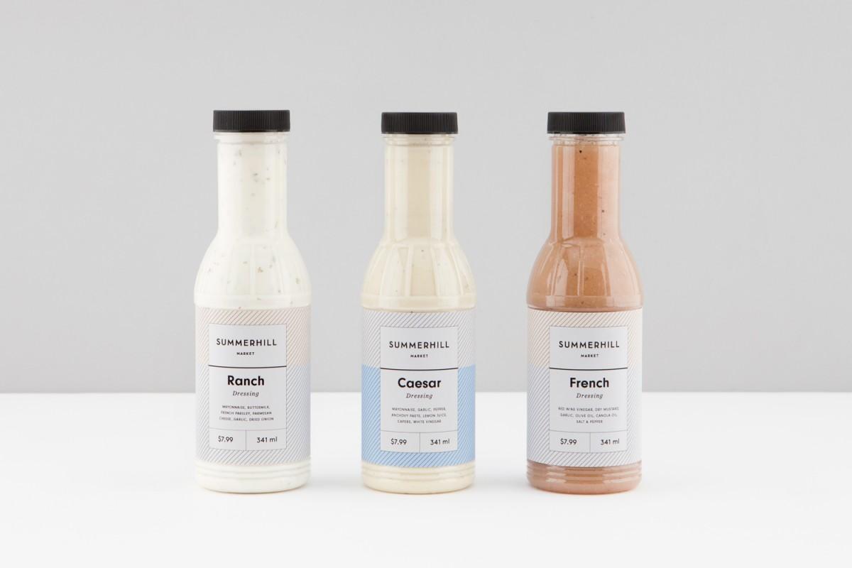 餐饮食品连锁品牌vi设计,包装瓶贴设计