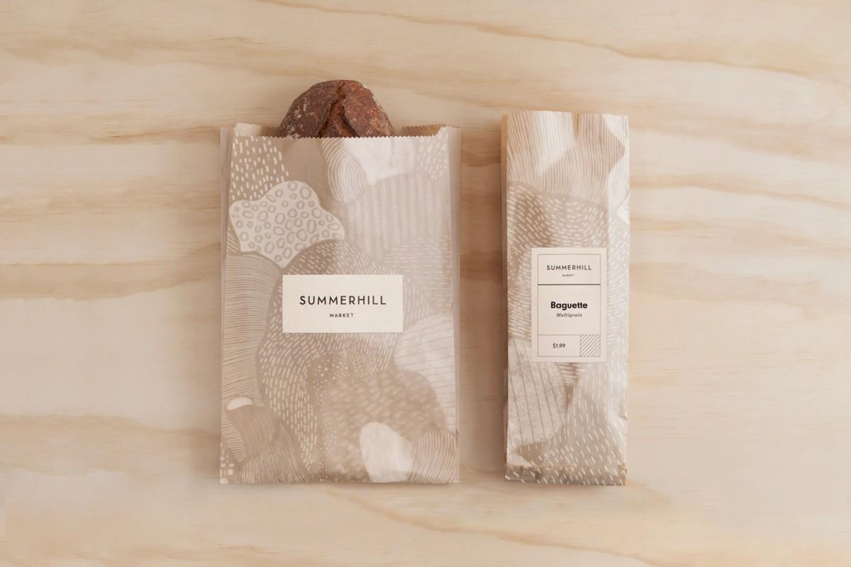 餐饮食品连锁品牌vi设计,包装纸设计