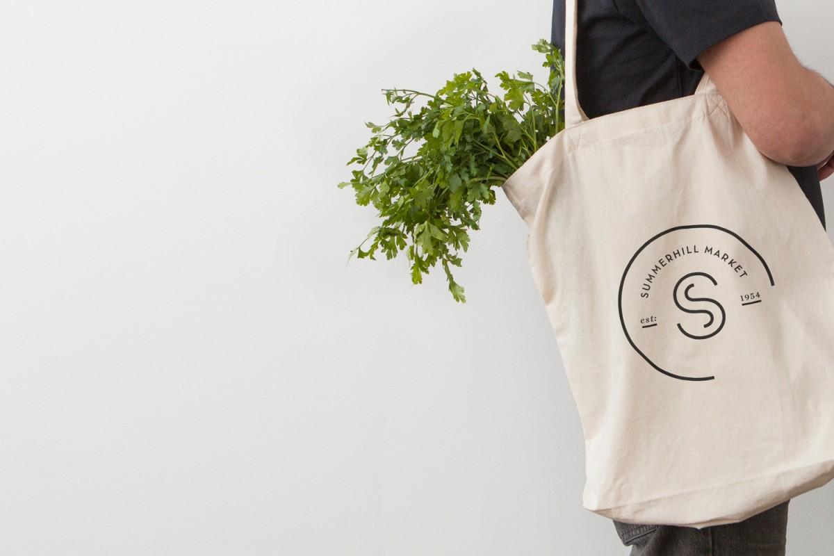 餐饮食品连锁品牌vi设计,手提袋设计