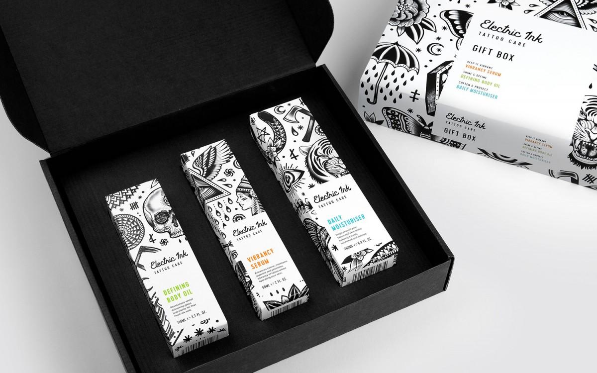 Electric Ink品牌形象设计 , 包装盒设计
