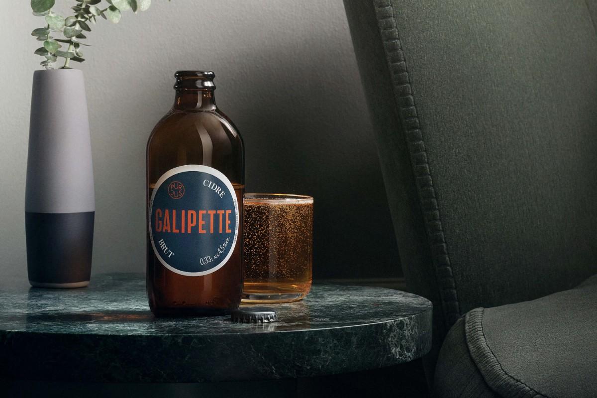 优质苹果酒Galipette产品形象塑造,包装设计