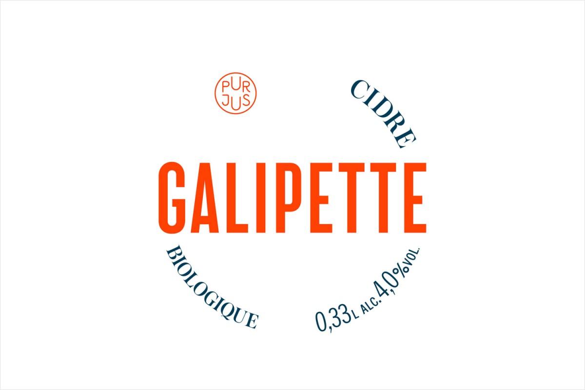 优质苹果酒Galipette产品形象塑造,logo设计