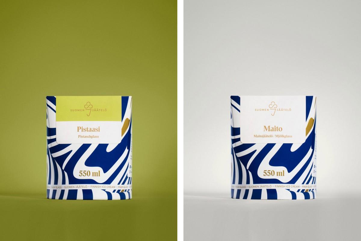 Suomen企业营销策划:超级优质冰淇淋品牌vi形象设计,包装设计
