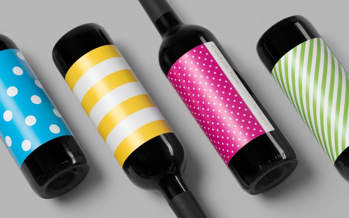 Novell葡萄酒包装设计与酒标设计,年轻欢快