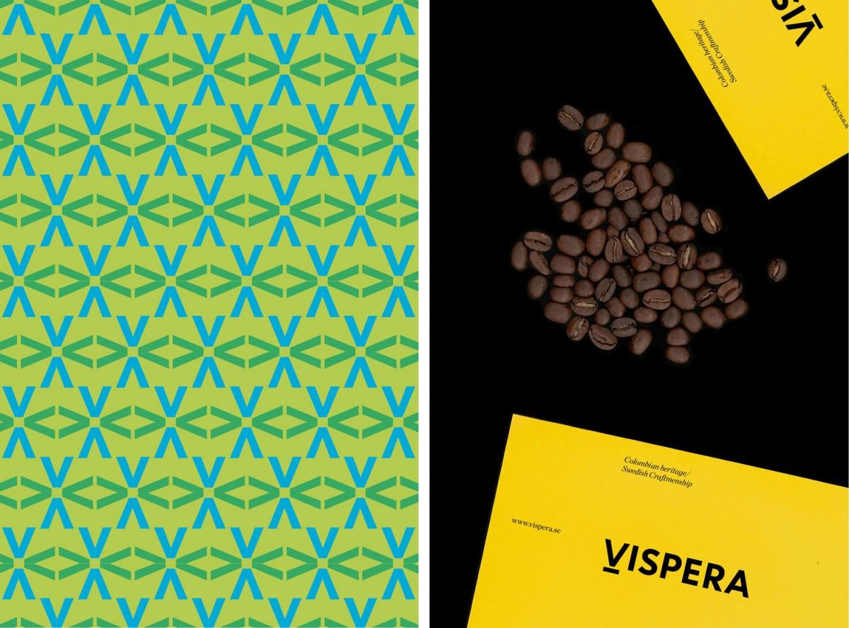 Vispera咖啡品牌vi设计,包装设计