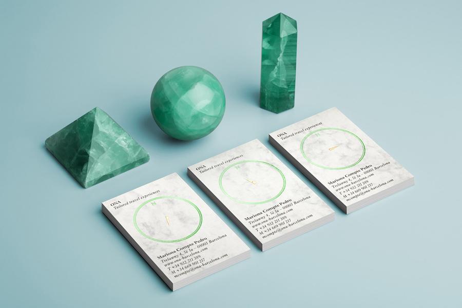精品旅行社Ona公司vi设计,办公应用设计