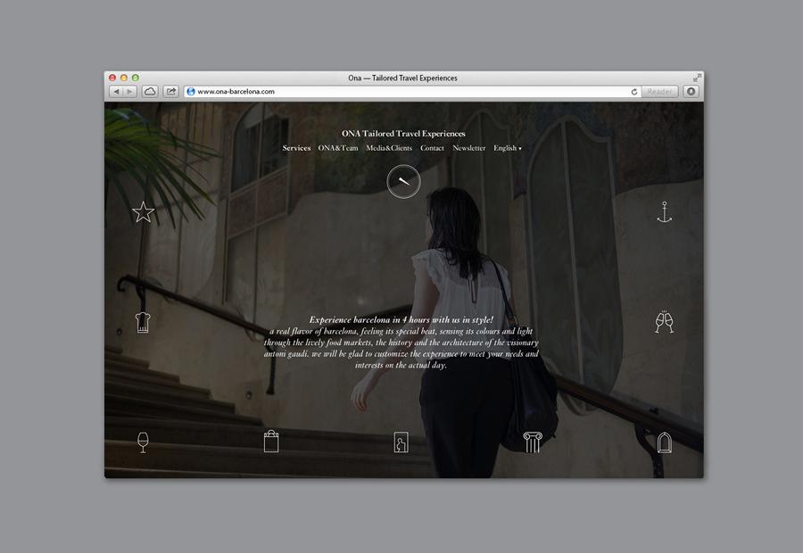 精品旅行社Ona公司vi设计,网站设计