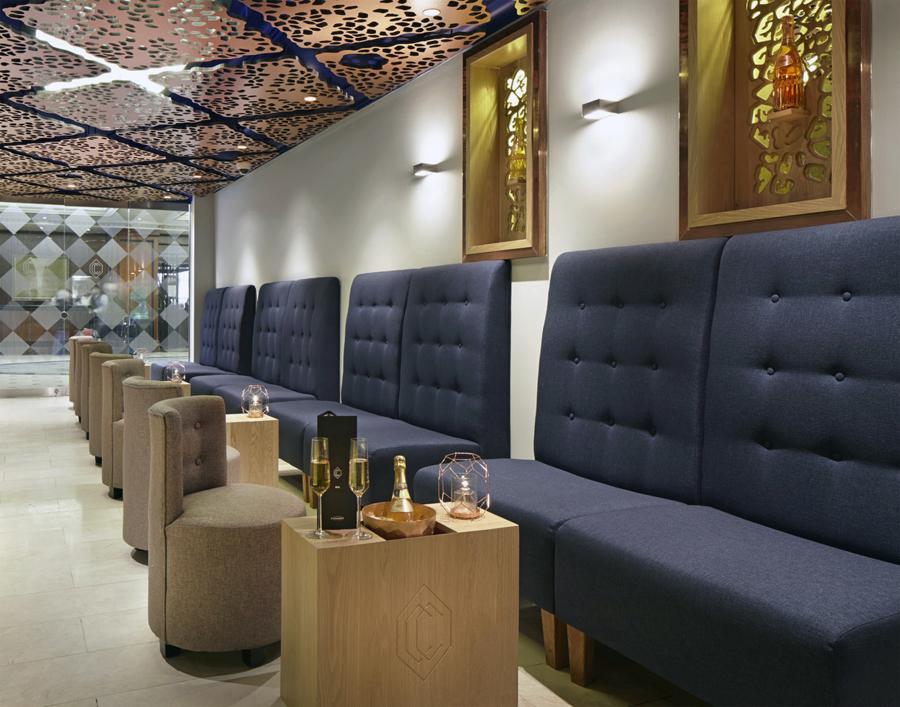 伦敦CCBar酒吧品牌形象塑造vi设计,室内设计