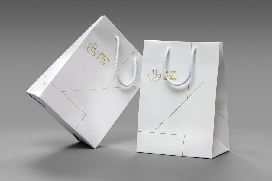 Ogeborg地毯品牌形象塑造 ,vi企业形象设计,手提袋设计